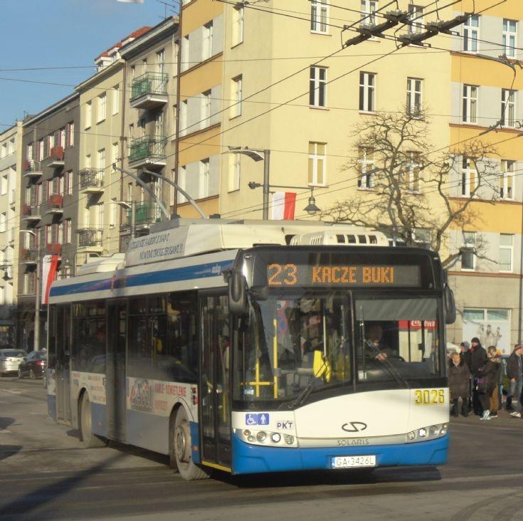 PKT Gdynia Trolleybus 3026