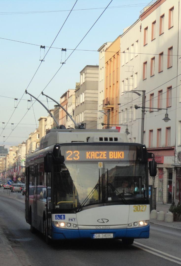 PKT Gdynia Trolleybus 3027