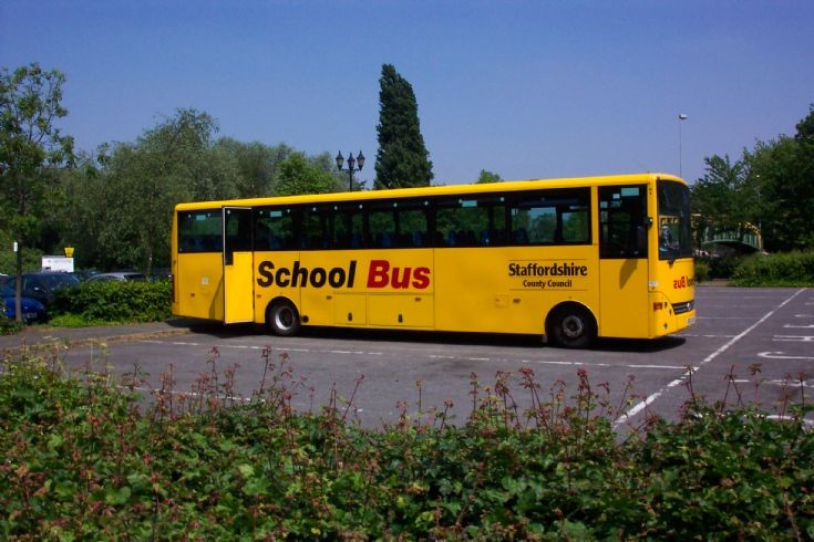 Staffordshire School Bus