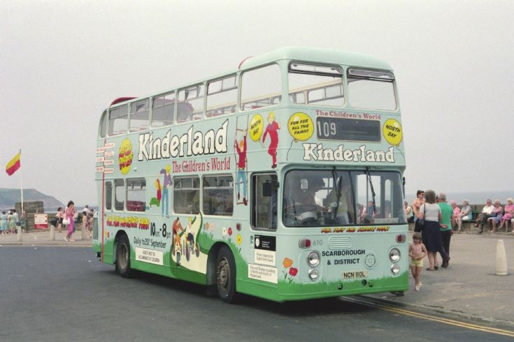 Ex Northern Atlantean (NCN110L) in 1987.