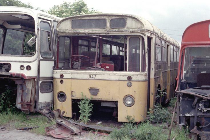 Sunderland Atkinson Alpha (WBR247) c1990