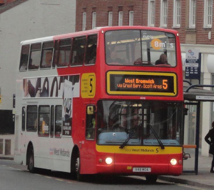 National Express West Midlands 4048