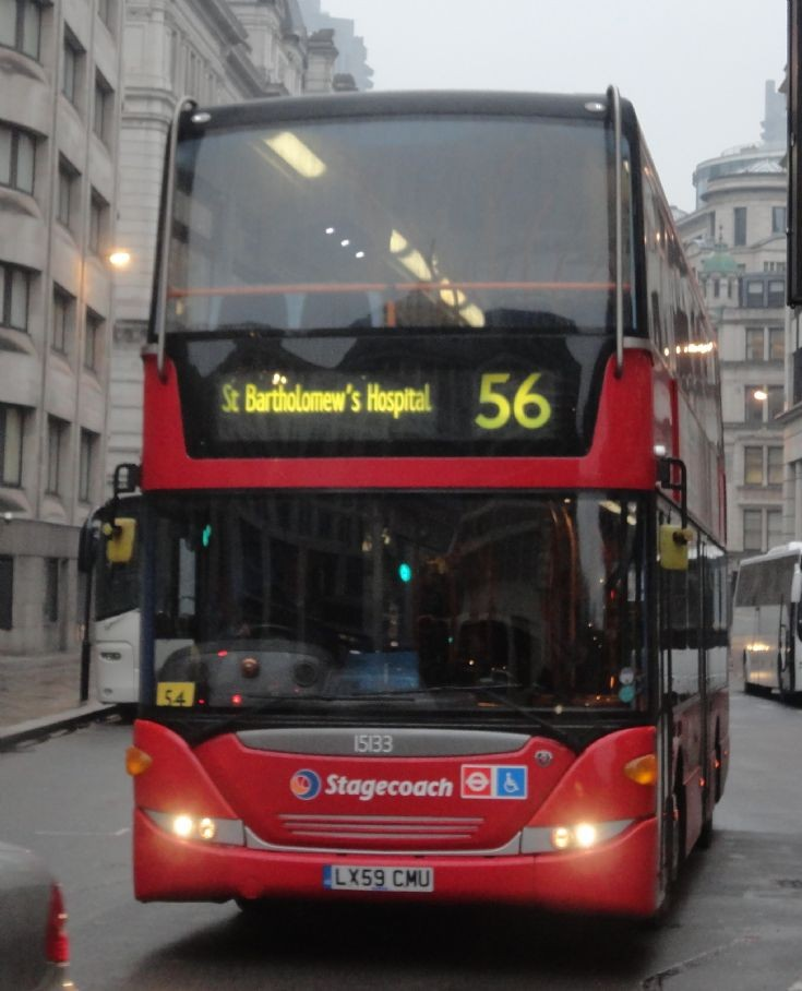 London Bus Routes : The 56