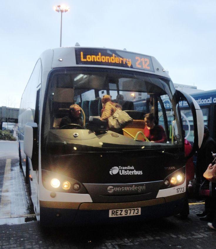 Translink Ulsterbus 1773