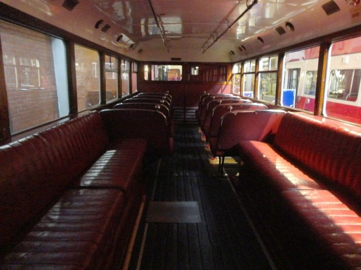 Belfast Trolleybus 112 Lower Saloon