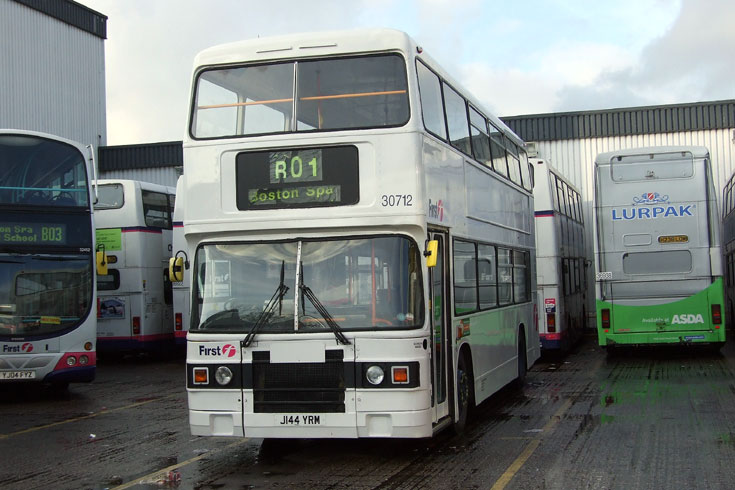 Photo taken at a First bus depot