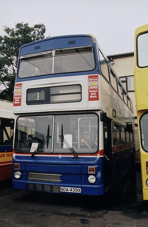 Bus at depot