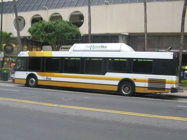 Honolulu New Flyer Hybrid