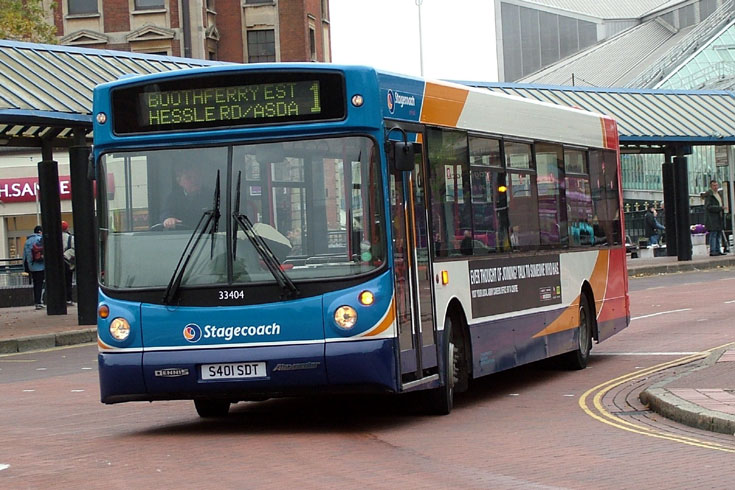 Stagecoach Hull bus33404
