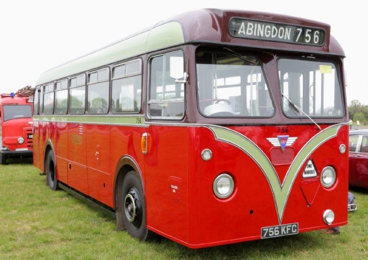 AEC bus at Abingdon Airshow 2013