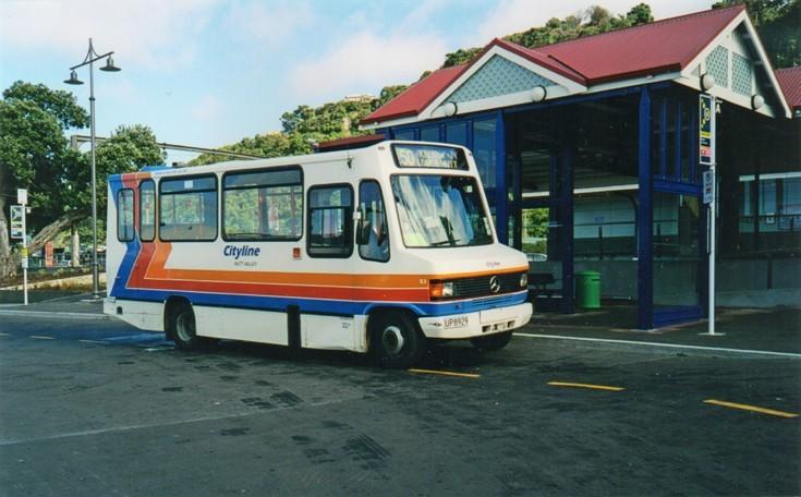 Hutt Valley bus