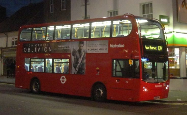 London Bus Routes : The 107