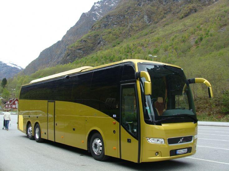 Volvo Bus - Bergen Norway