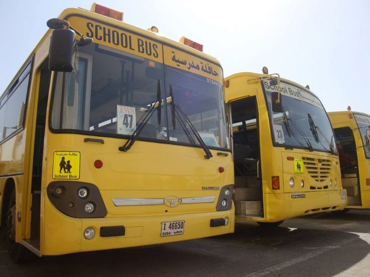 Daewoo and Ashok Leyland school buses.