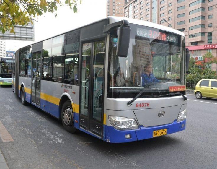 Ankai HFF6182G02D prototype