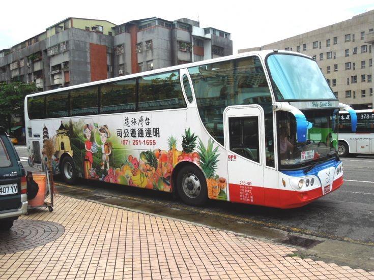 Taiwanese tour bus