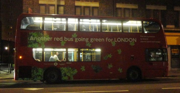 Lonodn Bus Routes : The 32