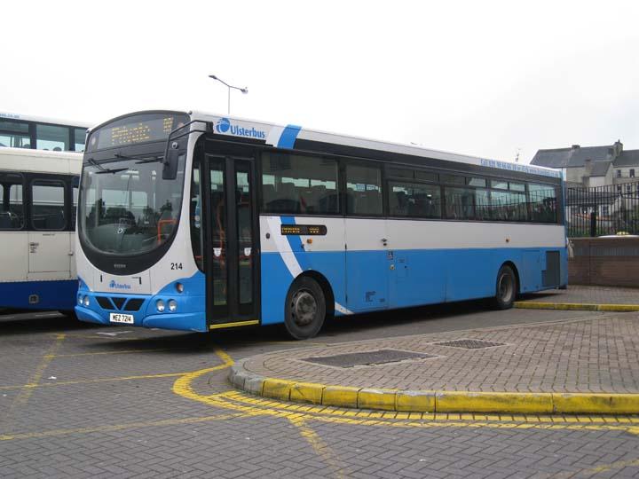 UlsterBus 214 Volvo MEZ7214