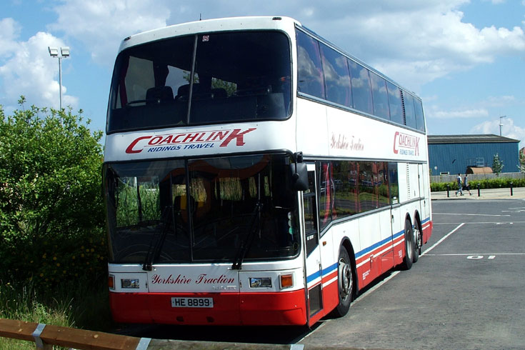 Coachlink Ridings Travel bus