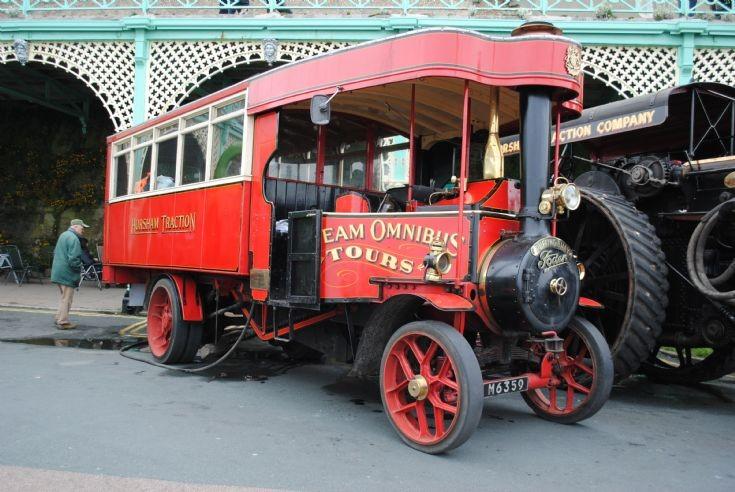 1922 Foden Steam Bus