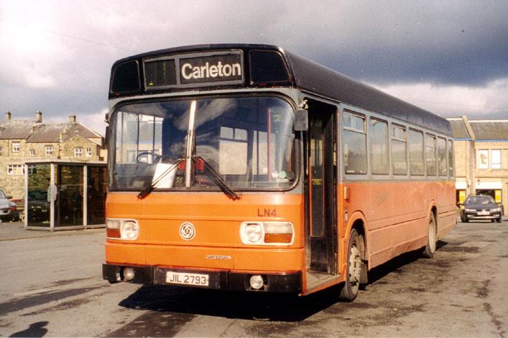 photo of old Leyland National bus