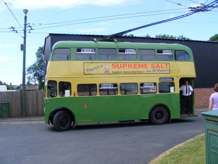 1946 Sunbeam W Trolleybus