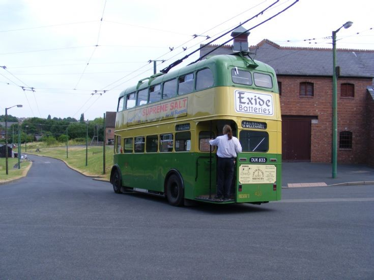 1946 Sunbeam W Trolleybus - DUK 833