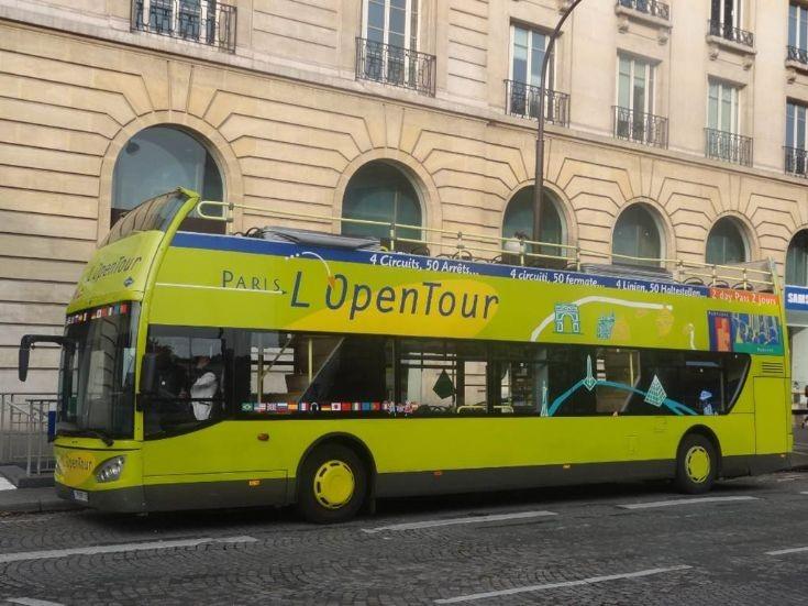 MAN L'OpenTour Paris France
