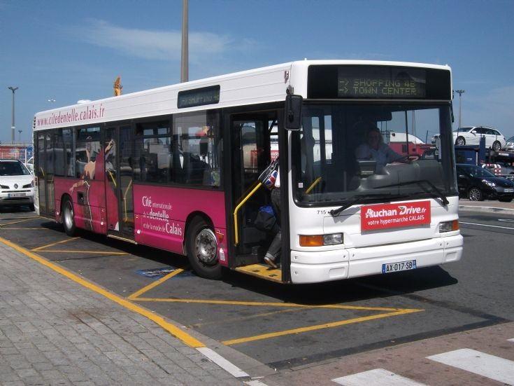 Calais Town Bus AX017SB
