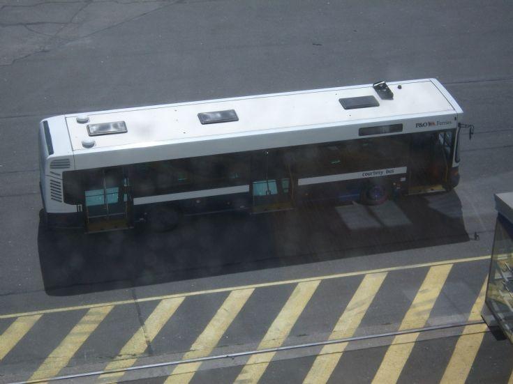 Calais Ferry Bus