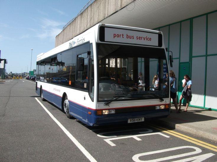 Dover Port Bus V511KMY