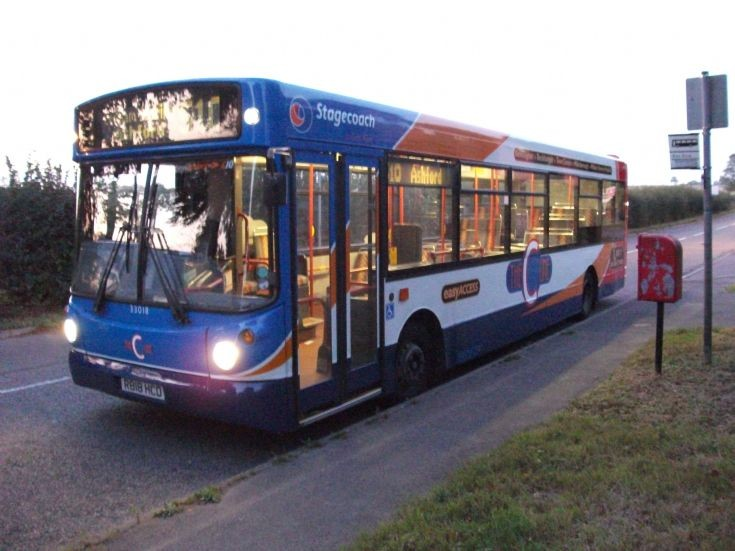 Stagecoach East Kent Dart R818HCD