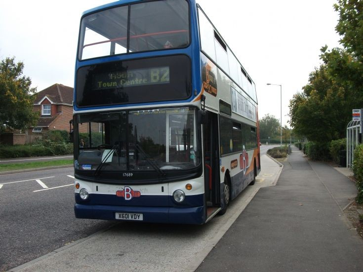 Stagecoach East Kent Trident X601VDY