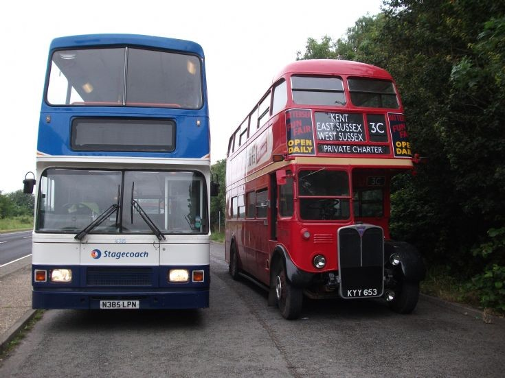 Stagecoach East Kent Volvo and LT RT