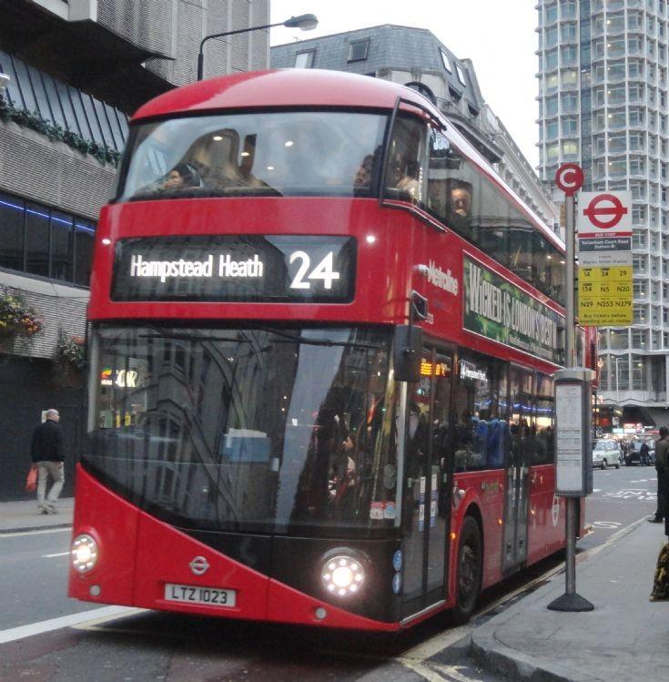 New Bus for London LT23
