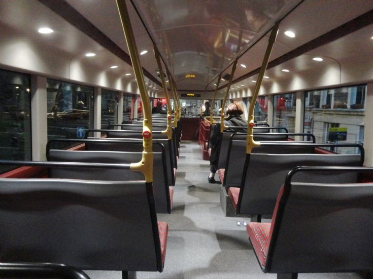 New Bus for London : Top Deck Interior