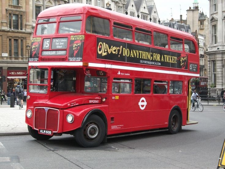 East London Routemaster ALM60B