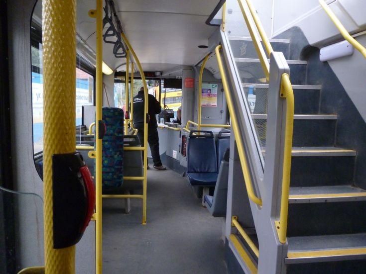 Inside, lower deck, Suncruiser