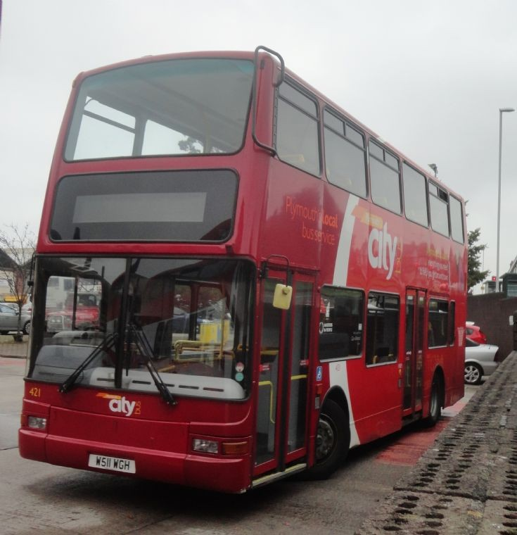 Plymouth Citybus 421
