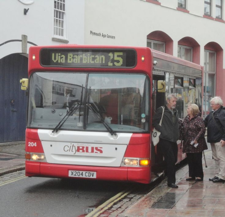 Plymouth Citybus 204