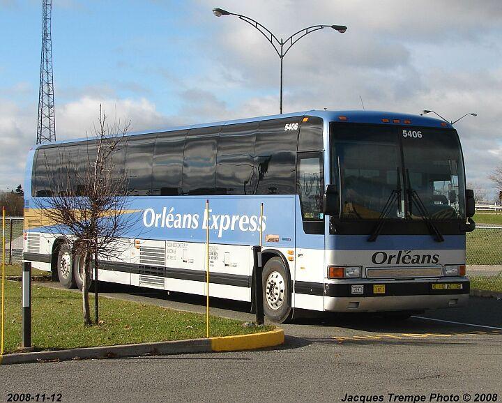 Prevost car Orleans Express