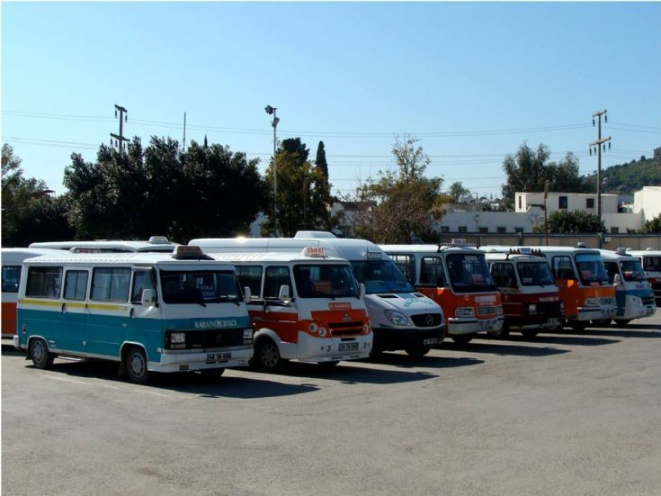 Micro-buses Bodrum