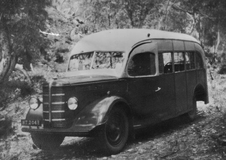 Bedford bus 1950