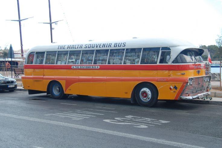 Old AEC bus in Malta