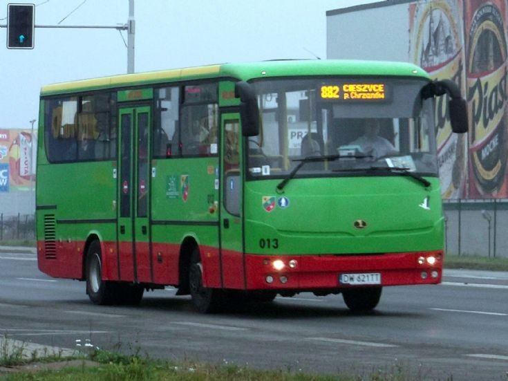 Autosan AL9 intercity bus