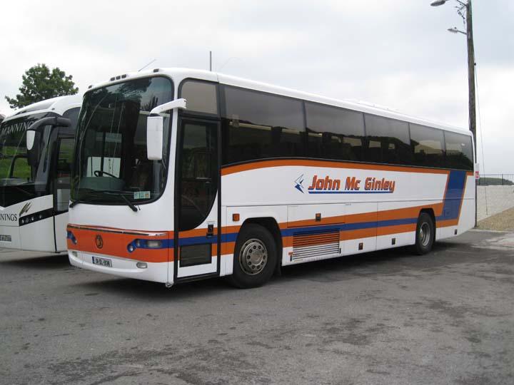 John Mc Ginley 2001 Plaxton tour coach 01-DL-1938