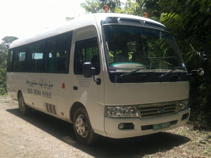 JAC mini bus