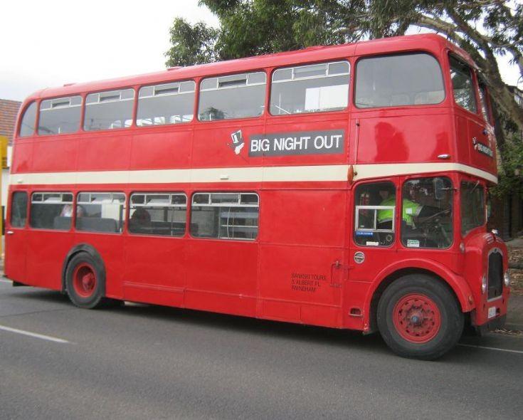 Unknown Bus in Australia
