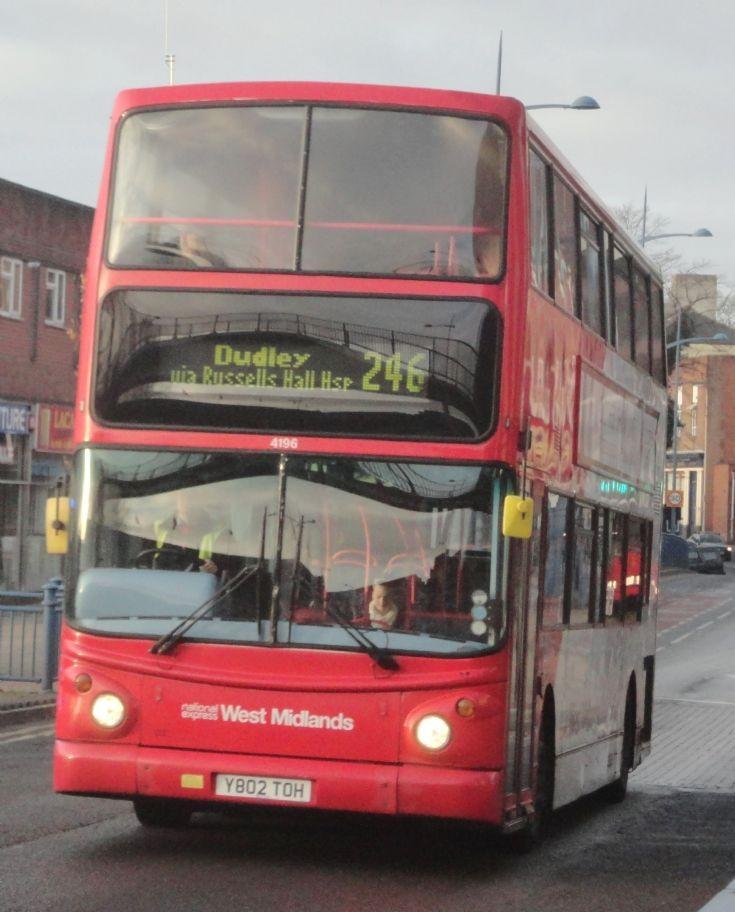 National Express West Midlands 4196