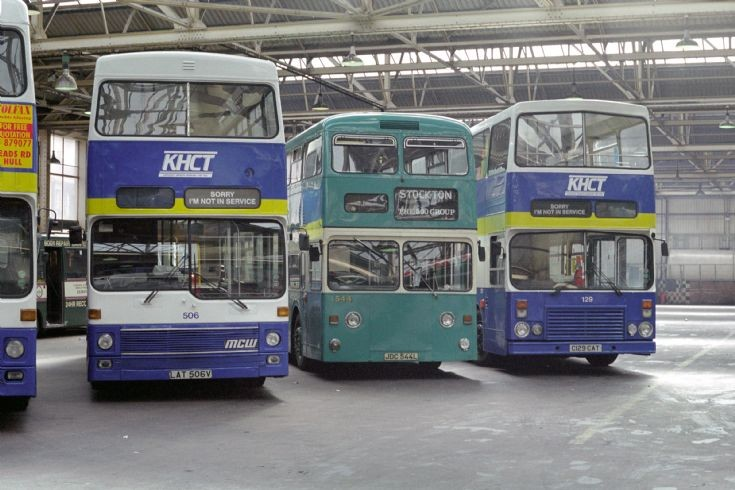 Teesside Fleetline in Hull 1994.